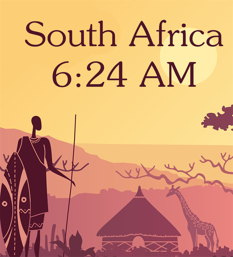 Society Story: South Africa, 6:24 AM