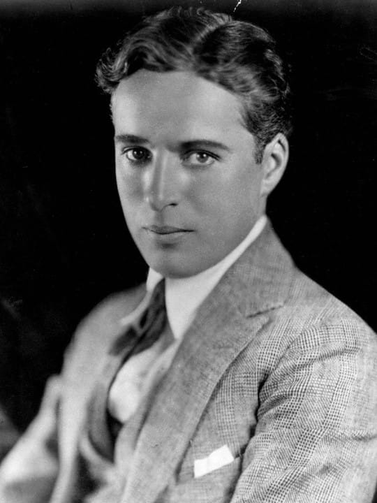 History Story: #8 Charlie Chaplin without mustache (1921)