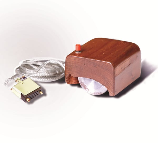Science Story: #9 The first prototype of a computer mouse: