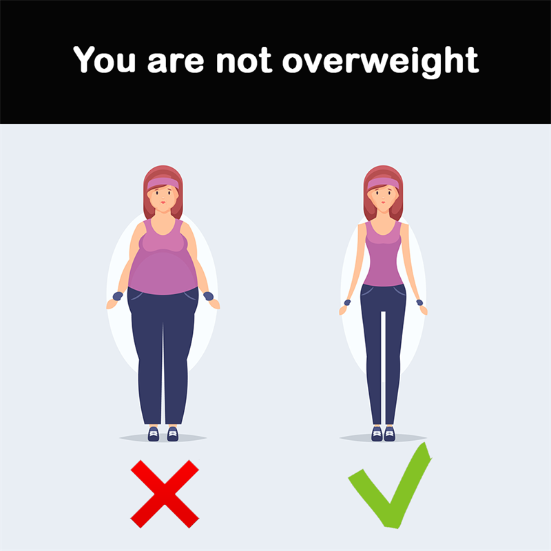 Science Story: You are not overweight