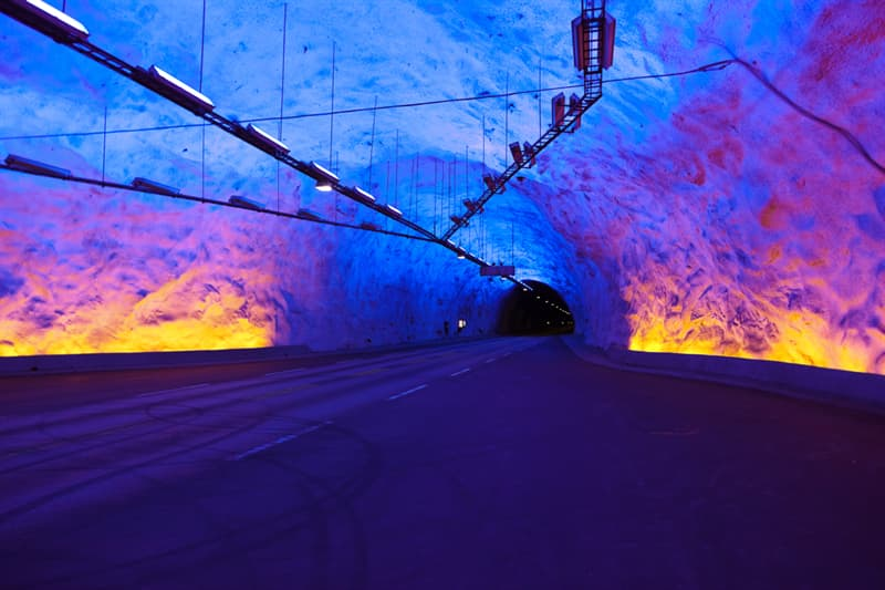 knowledge Story: #10 Laerdal Tunnel in Norway, the second longest road tunnel in the world