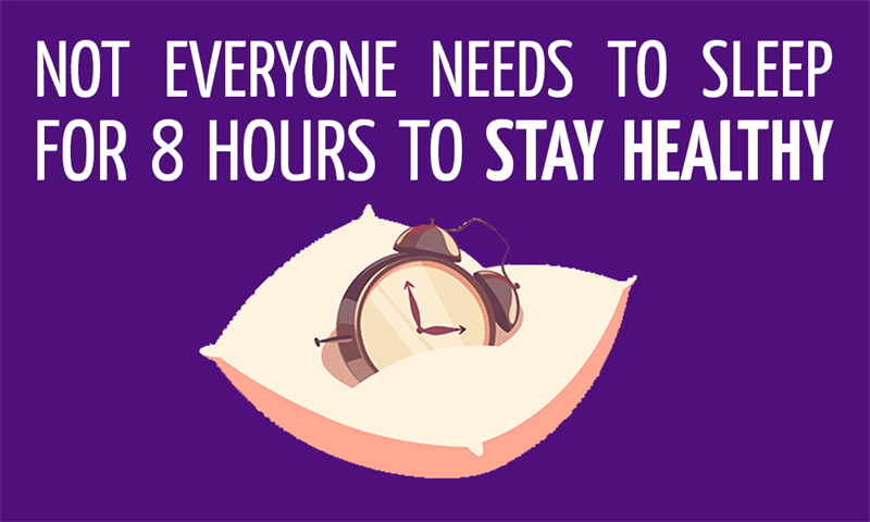 History Story: Not everyone needs to sleep for 8 hours to stay healthy