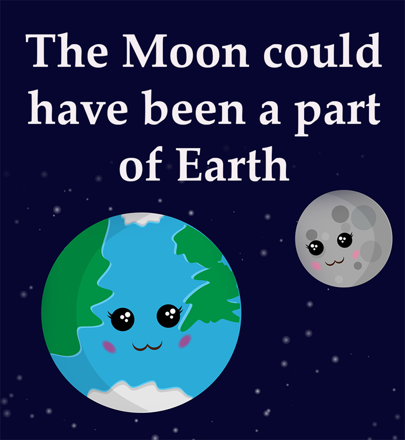 Science Story: The Moon could have been a part of Earth