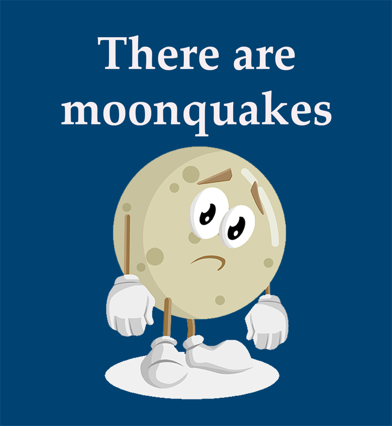 Science Story: There are moonquakes