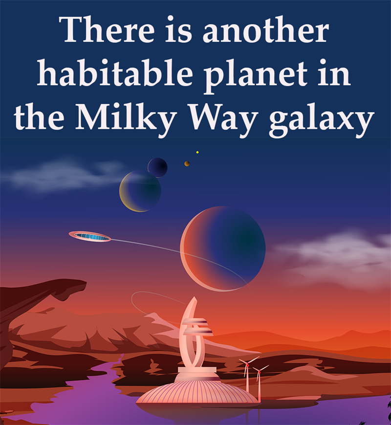 Science Story: There is another habitable planet in the Milky Way galaxy