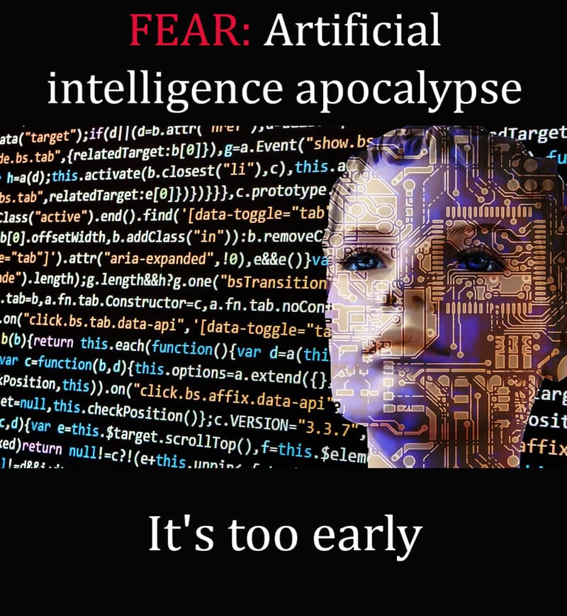 Science Story: Artificial intelligence apocalypse - it's too early
