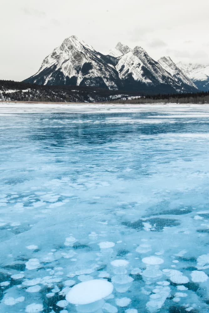 Geography Story: #5 Frozen methane bubbles