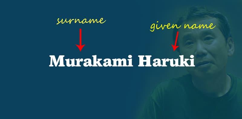 Geography Story: Murakami Haruki