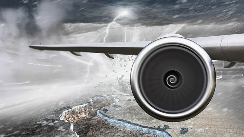 Geography Story: Do earthquakes affect an aircraft flying above?