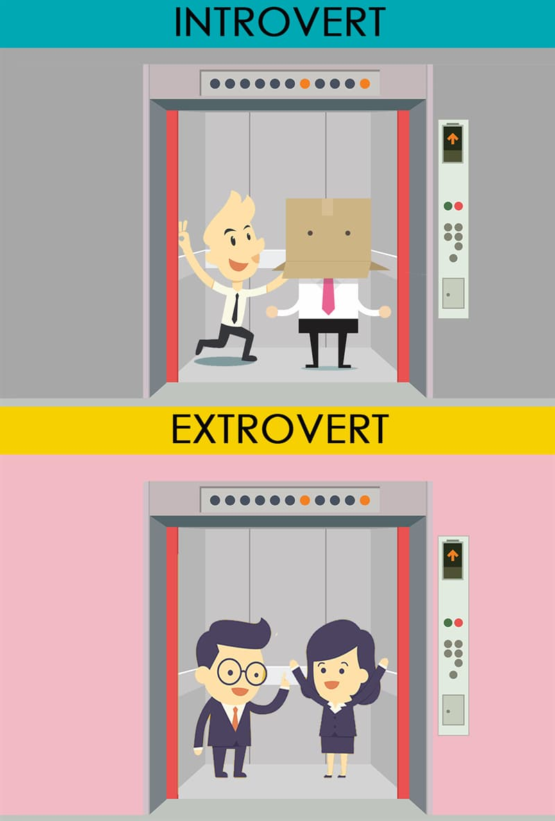 Society Story: #2 Meeting someone in an elevator:
