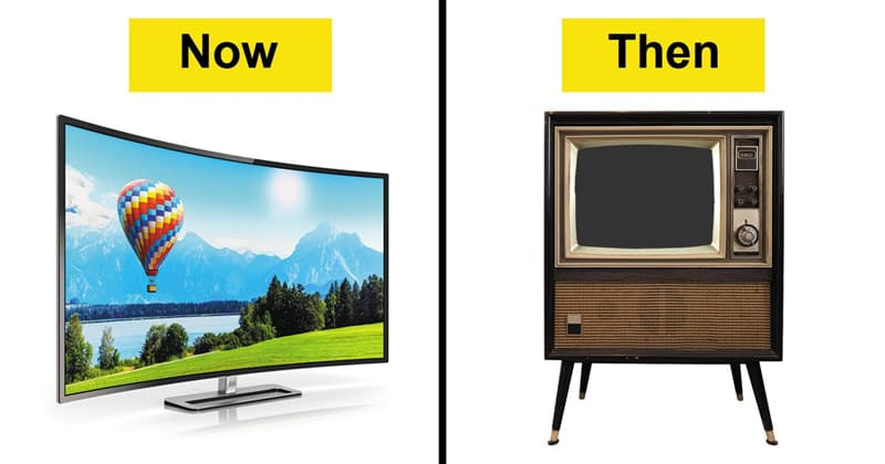History Story: Now and then: see how our everyday objects have changed #2 TV
