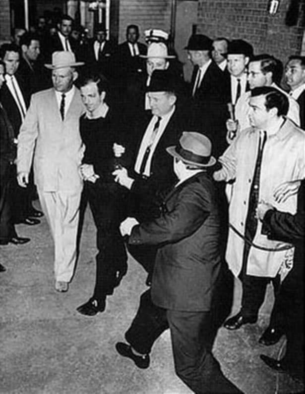 History Story: #11 Jack Ruby, a Dallas nightclub owner, is going to shoot Harvey Oswald, the man who assassinated JFK, November 1963