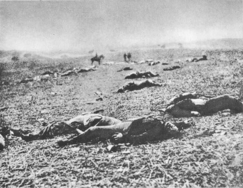 "History Story: #7 ""Harvest of Death"", the Gettysburg battlefield, 1863"