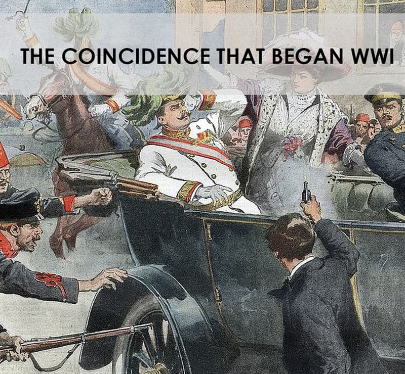 History Story: The coincidence that began WWI