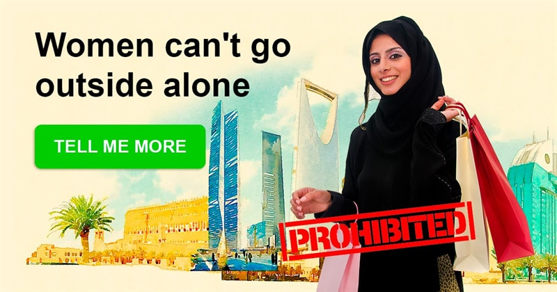 Geography Story: Things you won't believe are still prohibited for women in Saudi Arabia