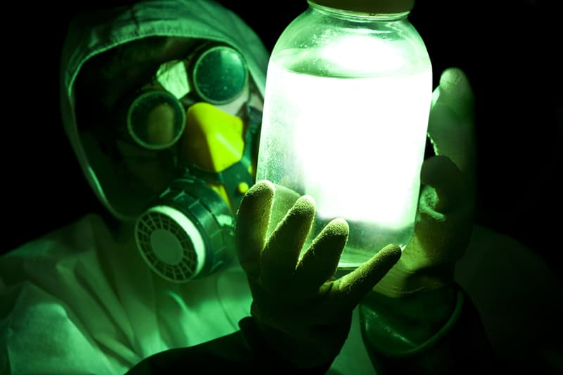 Science Story: Where did the myth that radiation glows green come from?