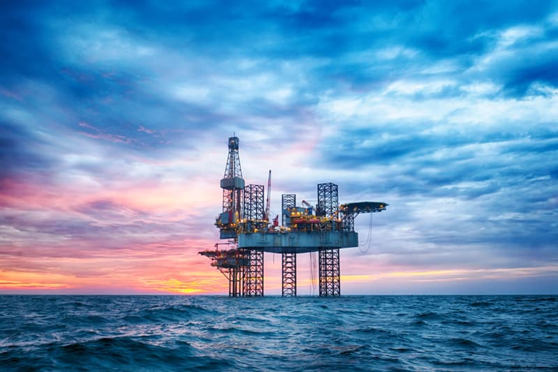 Geography Story: Why are oil rigs in the middle of the ocean?