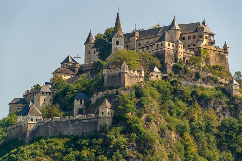 Geography Story: #1 Hochosterwitz Castle, Austria