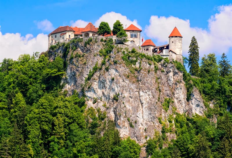 Geography Story: #2 Bled Castle, Slovenia