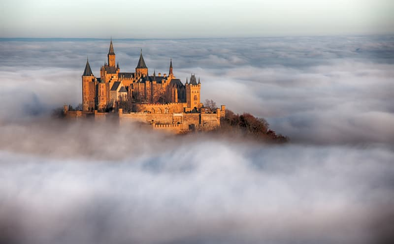 Geography Story: #3 Hohenzollern Castle, Germany