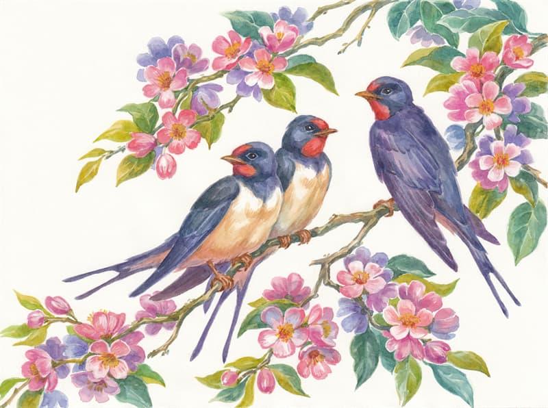 """Naturaleza Historia: ¿De que zona de África vienen todas las primaveras, las golondrinas """"en mi balcón sus nidos a colgar""""?"""