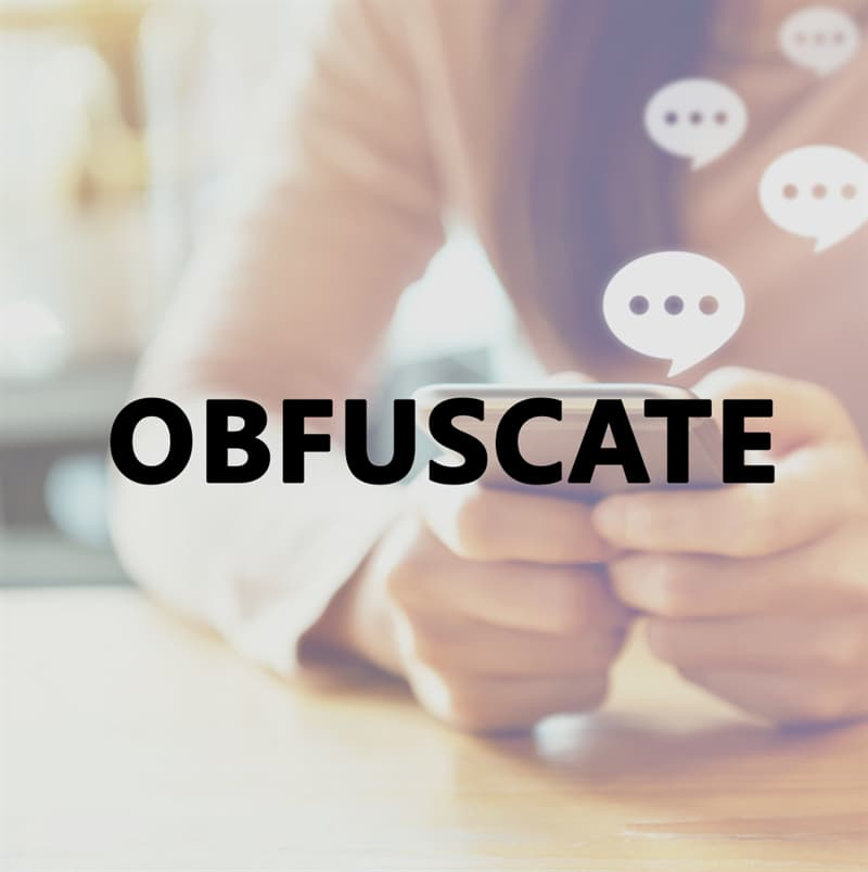 Culture Story: Obfuscate