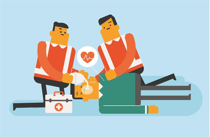 Society Story: Why don't paramedics run to emergency patients?