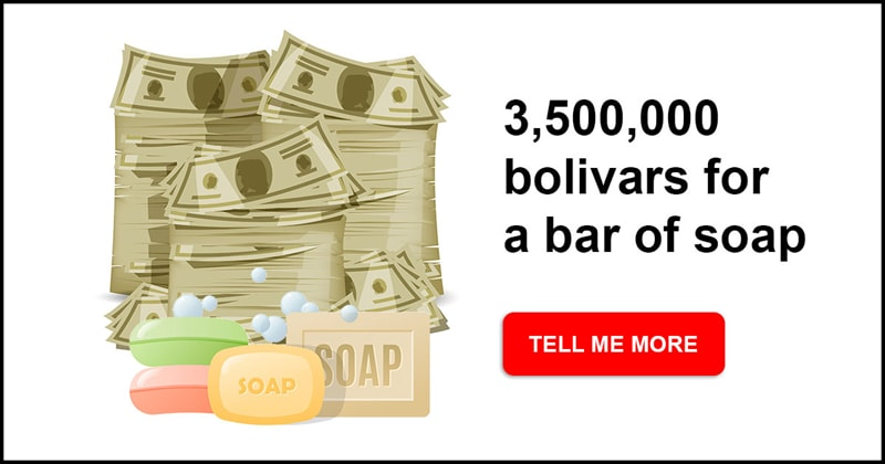 Society Story: Surviving hyperinflation - here is how much money the Venezuelans spend on everyday items