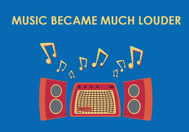 Culture Story: Music became much louder
