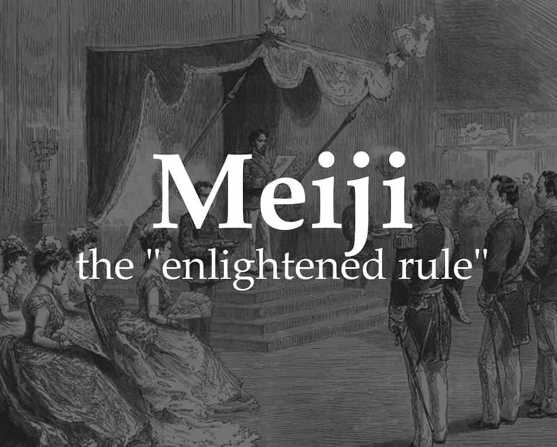 """History Story: Meiji (""""enlightened rule"""")"""