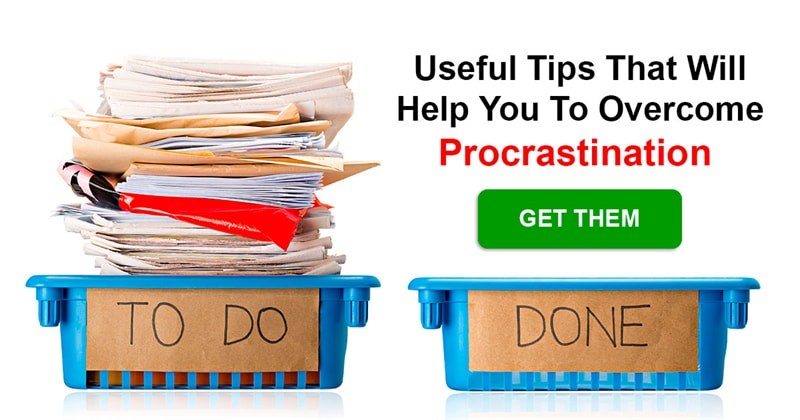 Society Story: What's an efficient way to overcome procrastination?