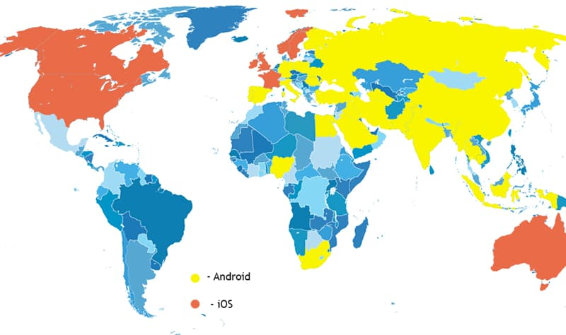 Geography Story: #12 iOS vs Android: