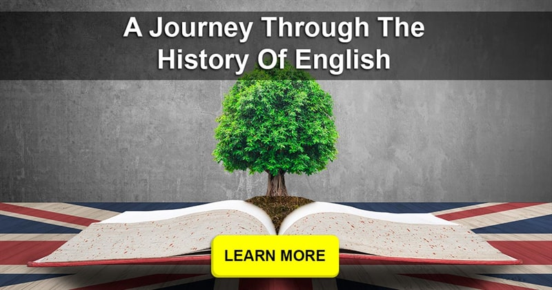 History Story: Can you write a sentence in English the way it would look now, 100 years ago, and 500 years ago?