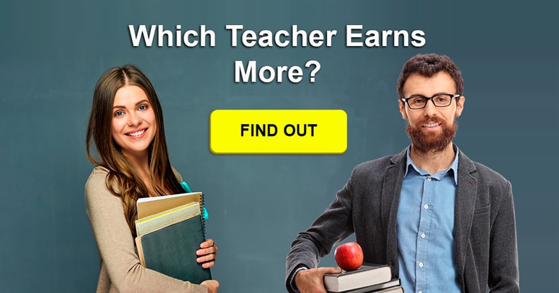 Society Story: Do male teachers earn more than their female colleagues?