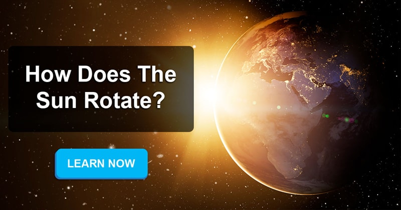 Science Story: Does the Sun also rotate like Earth?