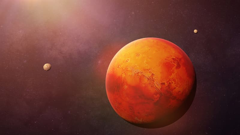 Science Story: #2 Mars is a red planet