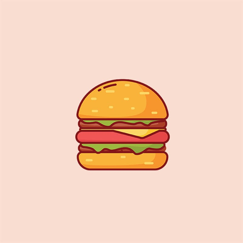 Society Story: #7 Hamburger: free spirited, easy-going, fearless