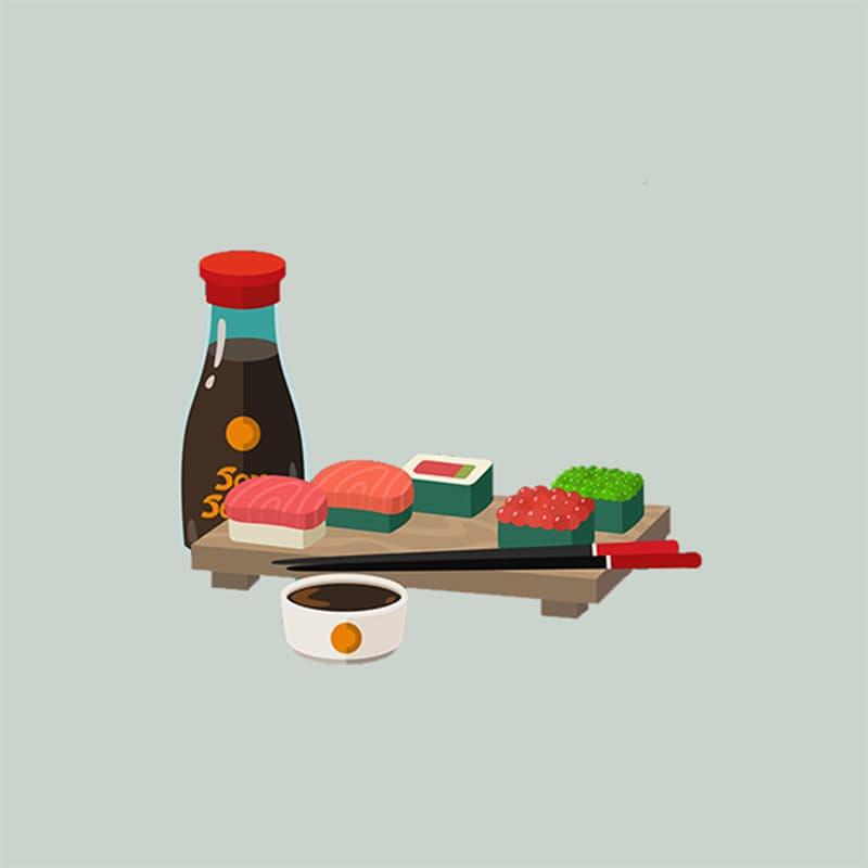 Society Story: #8 Sushi rolls: creative, dreamy, emotional