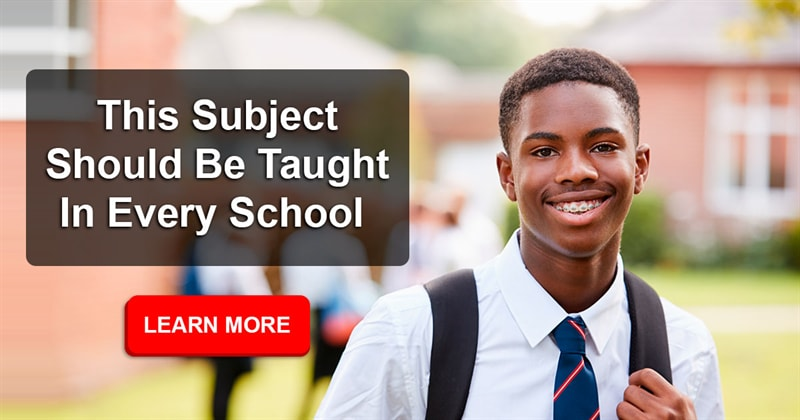 Society Story: What subjects should be taught in public school that are not already?