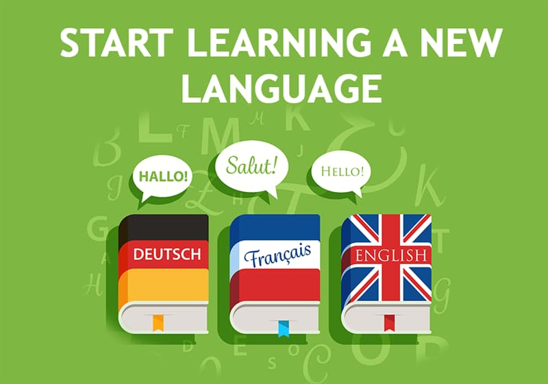 Science Story: Start learning a new language