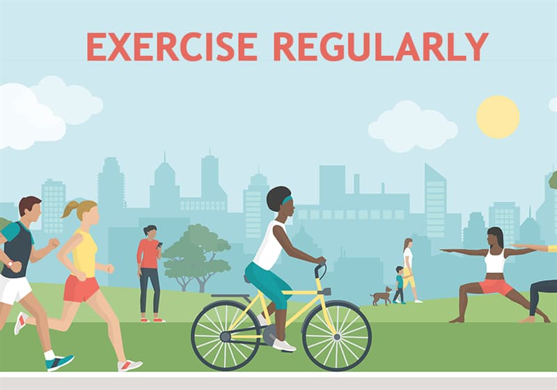 Science Story: Exercise regularly