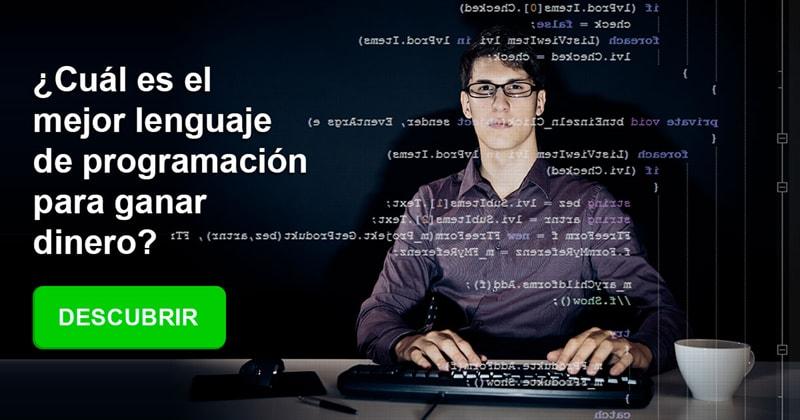 Conocimientos Historia: ¿Cuál es el mejor lenguaje de programación para ganar dinero?