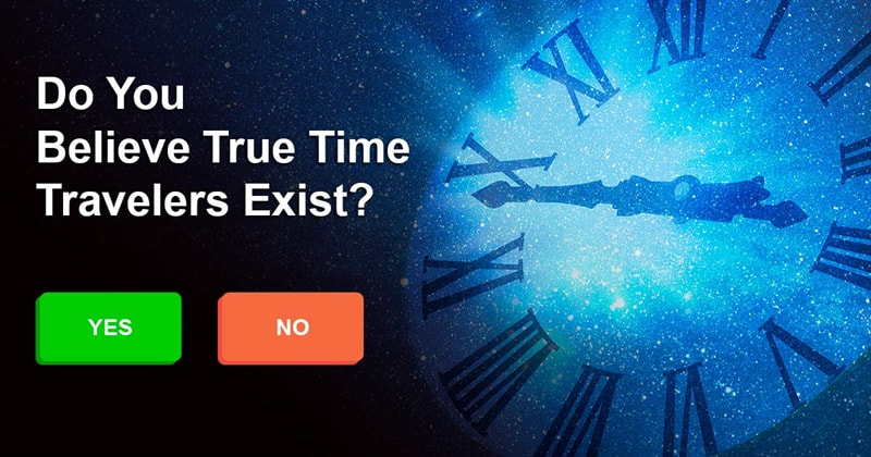 Science Story: If time travel did exist would people in the future even tell us?