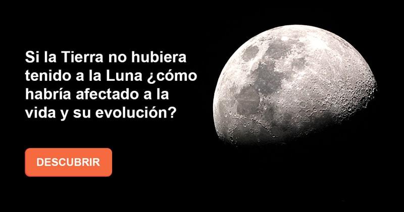 Geografía Historia: Si la Tierra no hubiera tenido a la Luna ¿cómo habría afectado a la vida y su evolución?