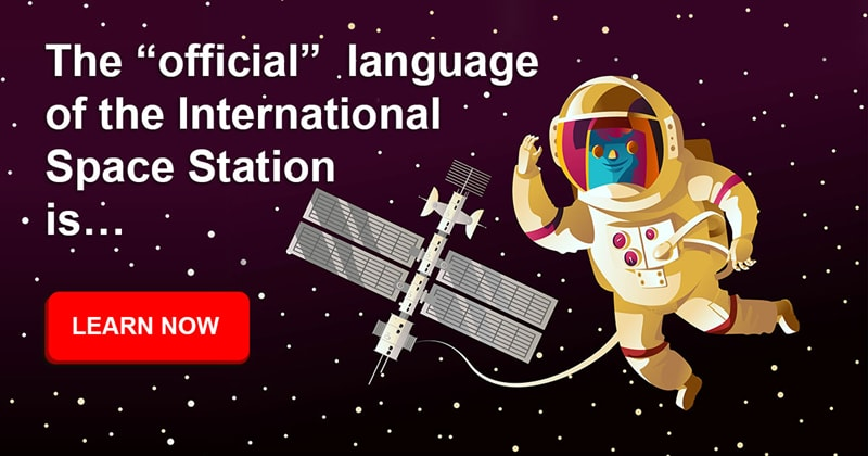 Society Story: What language do they speak in the ISS?