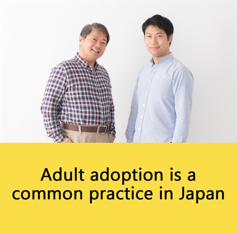 Science Story: Adult adoption is a common practice in Japan.