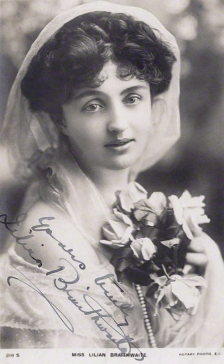 History Story: #12 Lilian Braithwaite, an English actress of the stage