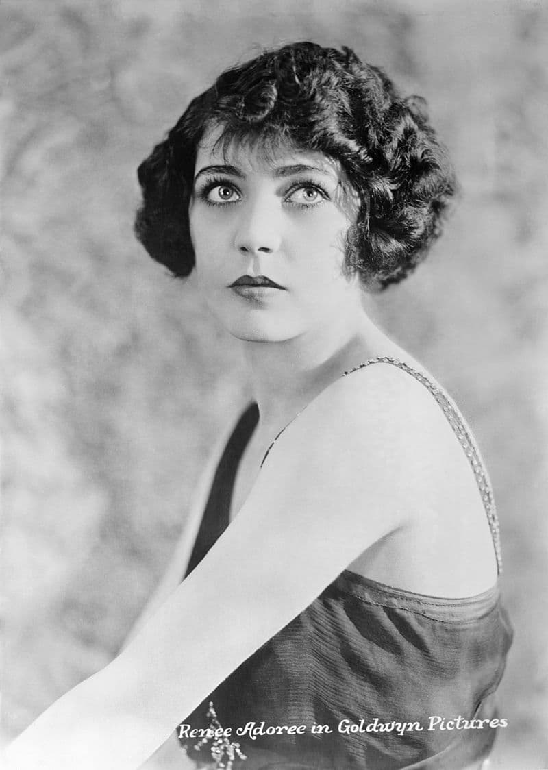 """History Story: #13 Renée Adorée, a French most famous for her role as Melisande in the melodramatic romance and war epic """"The Big Parade"""""""