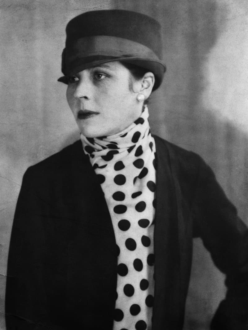 """History Story: #23 Djuna Barnes, an American writer and artist best known for her 1936 novel """"Nightwood"""""""