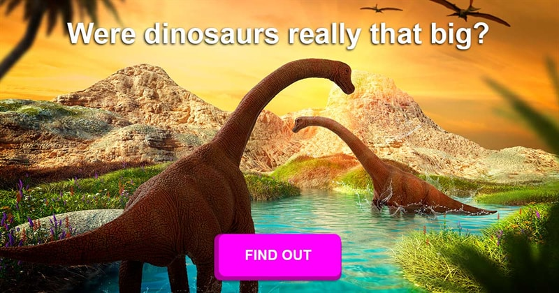 Geography Story: Why were dinosaurs so large in size?